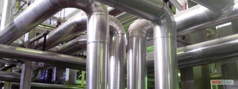 Теплоизоляция трубопроводов пара, отопления,