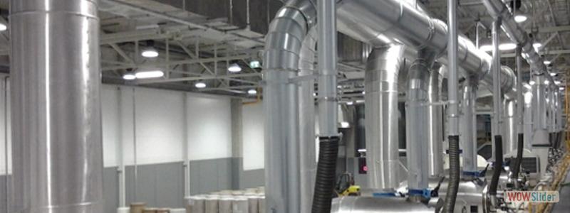Теплоизоляция воздуховодов и вентиляторов