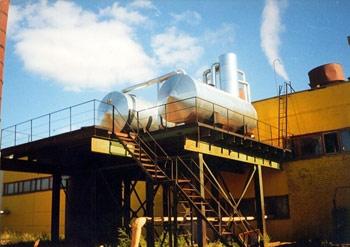 Минераловатная изоляция оборудования и емкостей